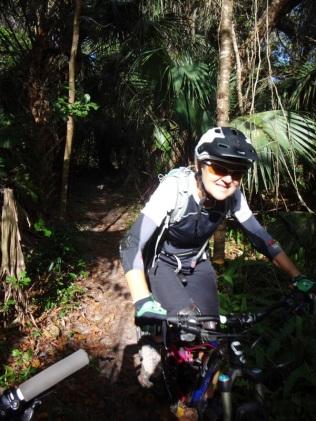 Mimi in the jungle