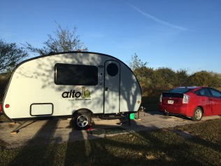 Little home away from home, at Alafia State Park