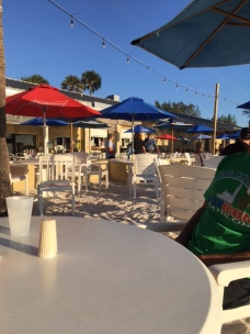 Delicious fish tacos and fresh fish of the day at the Anna Maria Island Beach Cafe